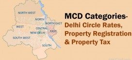 MCD Category – Delhi Circle Rates & Property Tax Rates