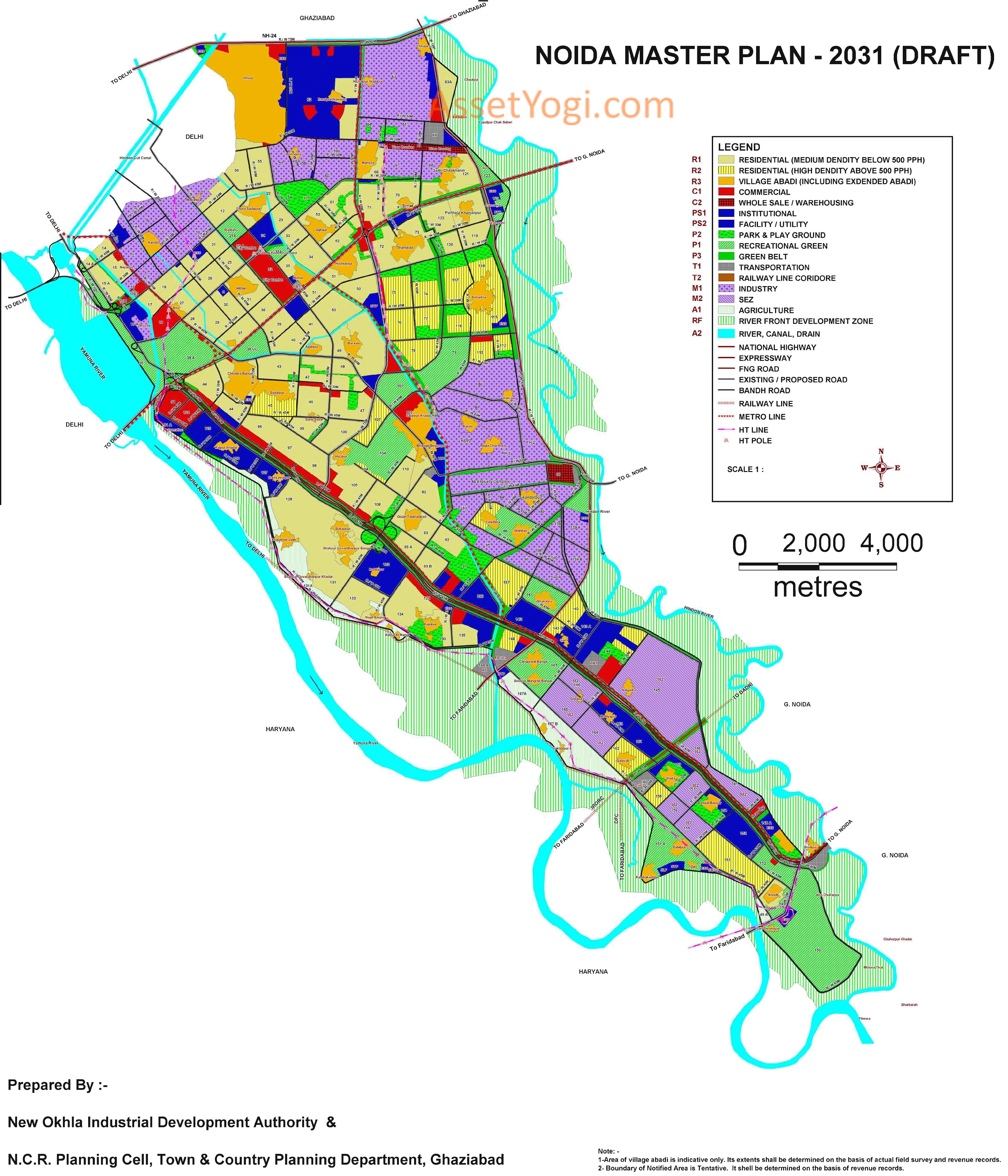 Noida-Master-Plan-2031- Map