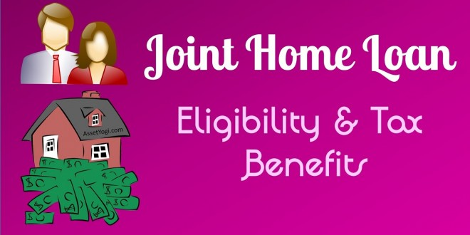 Joint Home Loan Tax Exemption