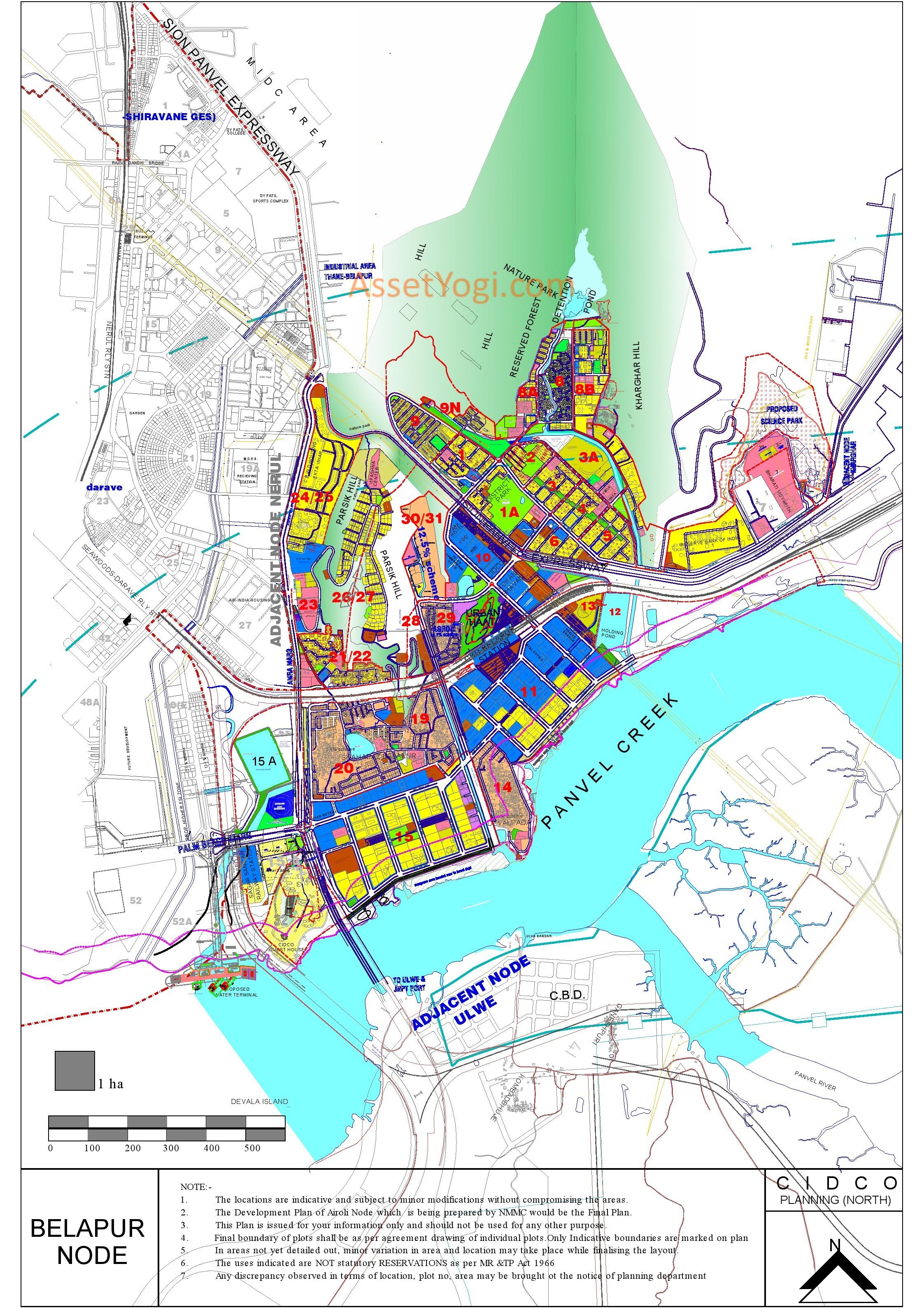 Lease Vs Rent >> belapur-development-plan-map