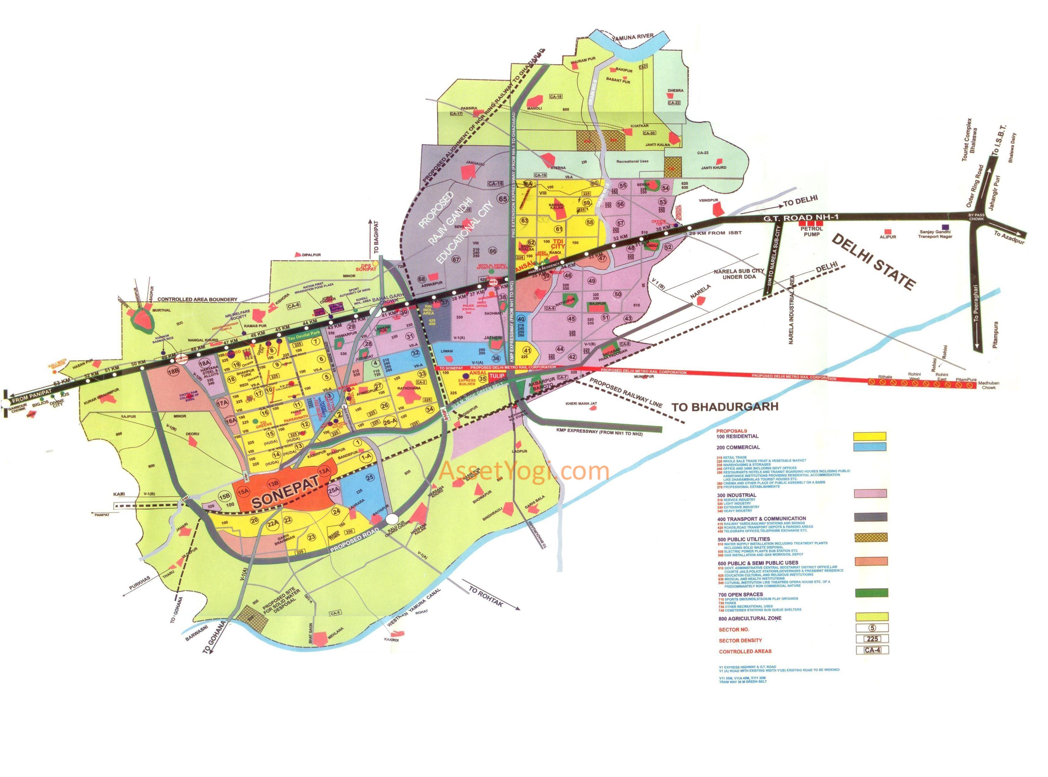 Chandigarh City Map Free Downloads