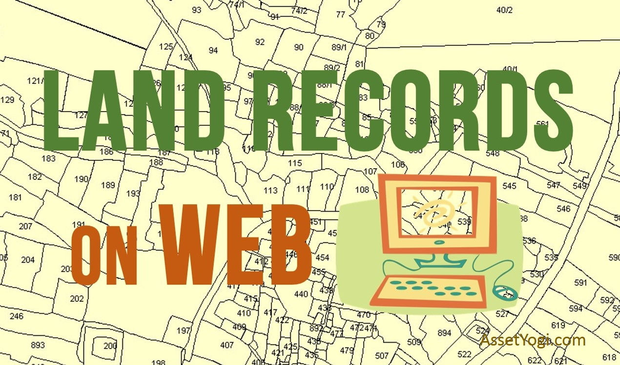 Land Records On Web Online Land Record System In India